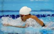 Anh Viên luyện tập bơi hàng ngày